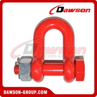 DS757 G8 Bolt Tipo Alloy Dee Shackle for Lifting