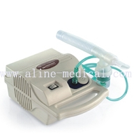 Air-compressing nebulizer