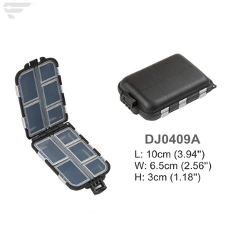 DJ0409A Grey Color Accessories Storage Plastic Box