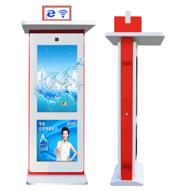Dedi 55inch fan-cooling outdoor advertising display with double screen (effici)