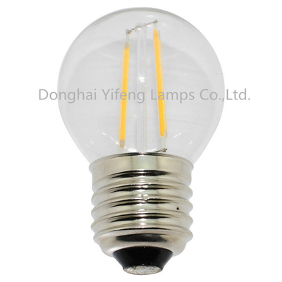 G45 LED Filament Bulb with EMC and Celvd Approved