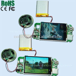 LCD brochures video card chips