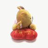 Lovely Plush Toy Sleeping Ted Bear Toy with Heart Pillow