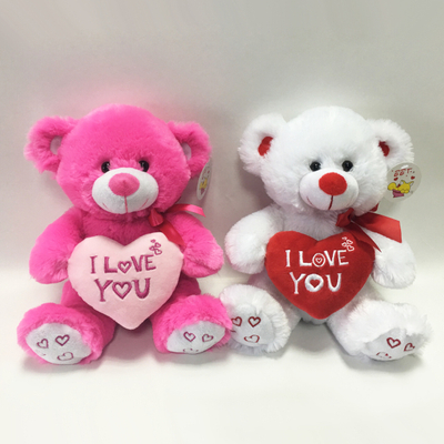 Custom Valentines Day Gifts Plush Teddy Bear Toys