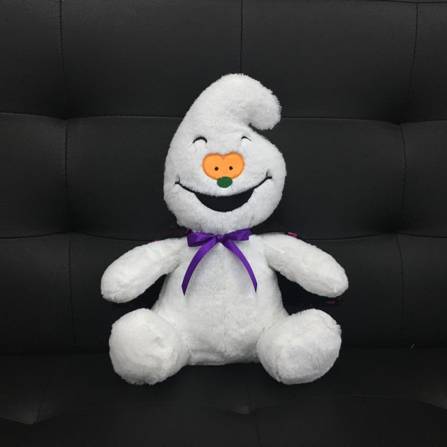 Laughing Ghost Plush Toys for Halloween Gifts with Embroidered