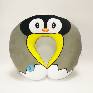 U Shape Stuffed Animal Penguin Neck Pillow with Music