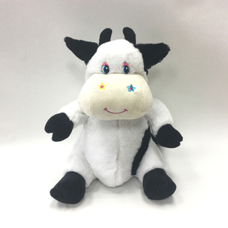 Funny Soft Cow Shaped Plush Backpacks