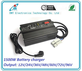 1500W Battery Intelligent Charger for Electric Vehicle