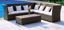 Garden Patio Wicker / Rattan Sofa Set - Outdoor Furniture (LN-060)