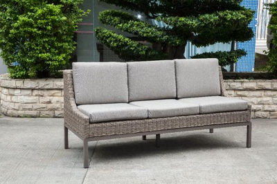 Luxury Modern Wicker/Rattan Sofa for Outdoor Furniture (LN-2004)