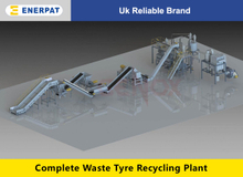 Waste Tyre Recycling Plant(3,000-6,000kg/hr)