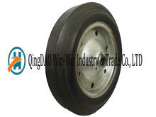 15 Inch Solid Rubber Wheels for Garden Cart