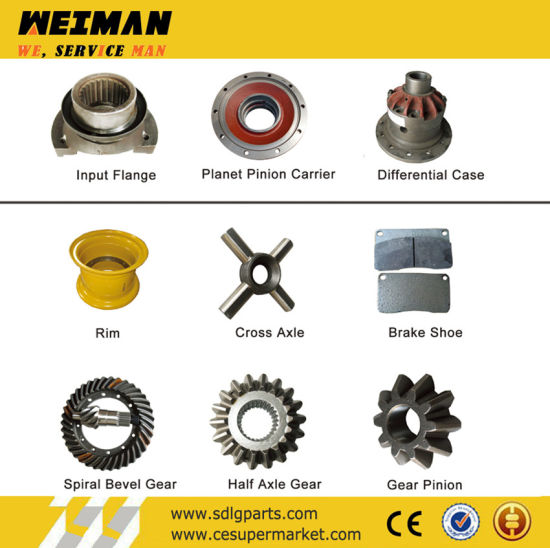 22015 CE Best Selling Zf Box Sdlg Wheel Loader Spare Parts