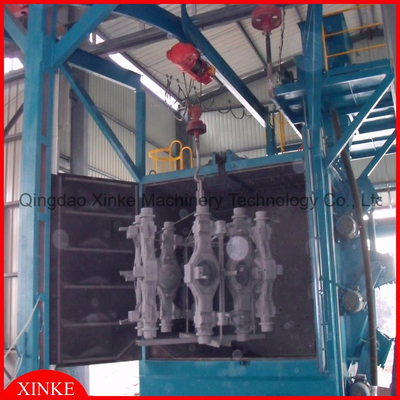 Two hanger type shot blasting machine Shot Blasting Machine