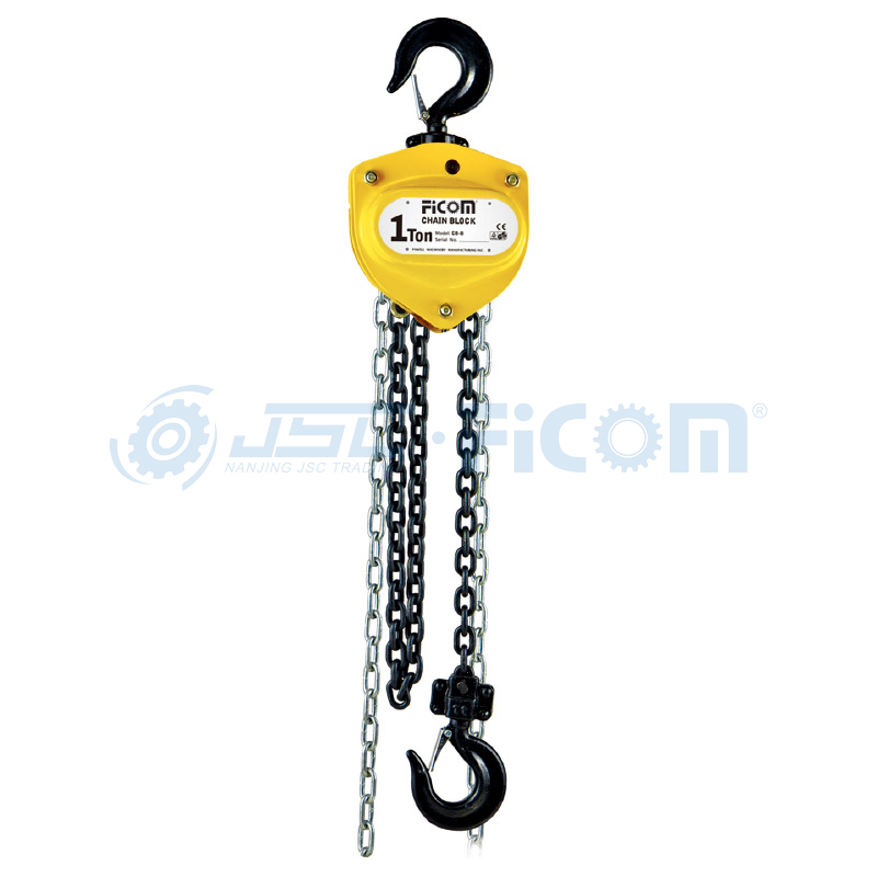 Manual Chain Hoist Model: MH (Capacity: 500-30000kg)