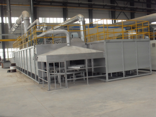 tunnel type coating line