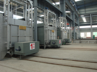 Chamber-type tempering furnace