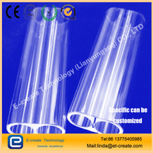 High Precision Quartz Chamber Glass Tube Twin Tubing for Laser/Medical Equipments