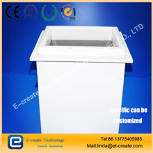 Lianyungang Double-deck Silica Quartz Tank for Wafer Cleaning