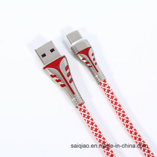 Multicolour Type-C Charging Data Cable for Huawei