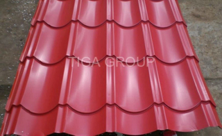 Metal Roofing Materials/Colorful Prepainted Steel Sheet Roofing Factory Price