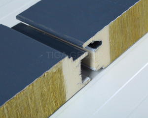 Sandwich Panels Type Corrugated Rock Wool Roof Board