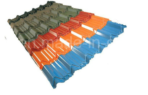 PPGI/PPGL Iron Roofing Sheet/ Colored Steel Tile Corrugated Metal Roofing