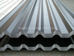 Trapezoidal Galvalume Roof Sheets T Profile Aluzinc Metal Roofing