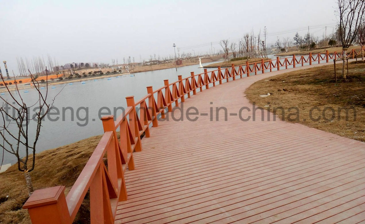 Waterproof Fire Resistant WPC Outdoor Decking Plate with Good Quality