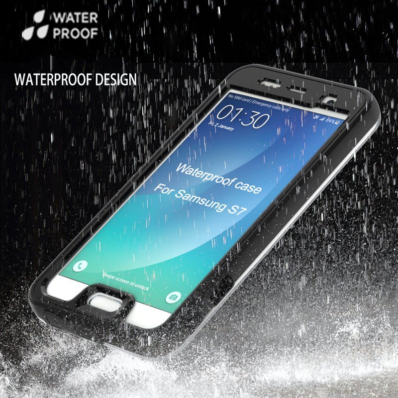 Fashion Water/Dustproof Mobile Phone Case for Samsung S7