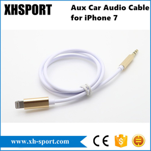 3.5mm Aux Cord Car Audio Cable for iPhone 7