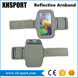 Full-Reflective Surface Outdoor Sport Running Mobile Phone Armband for iPhone8
