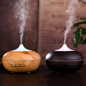 300ml Ultrasonic Air Humidifier Aromatherapy Diffuser Automatic Body Sensor