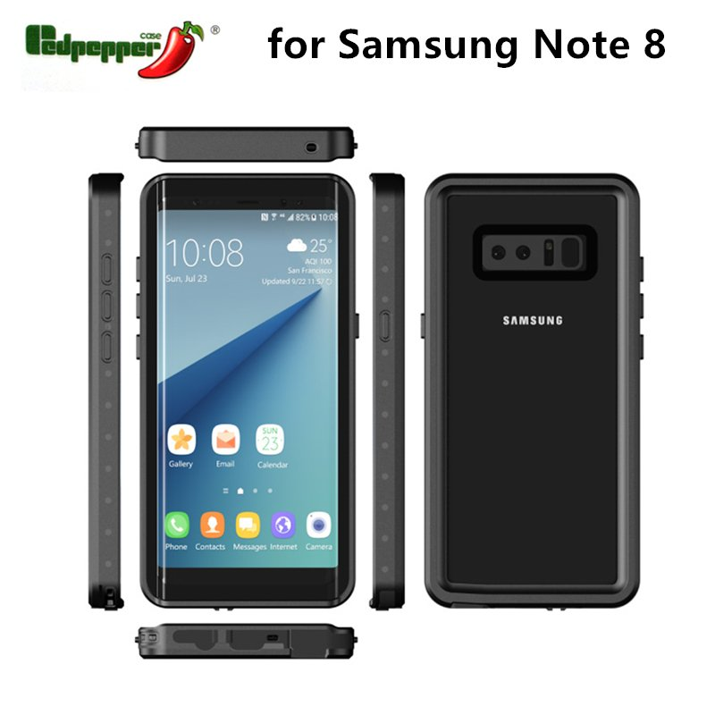 New Waterproof Mobile Phone Accessories Cover Case for Samsung Note8
