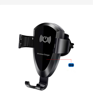 Fast Wireless Car Charger with Holder Mount for IPhone X Wireless Car Charger for Samsung