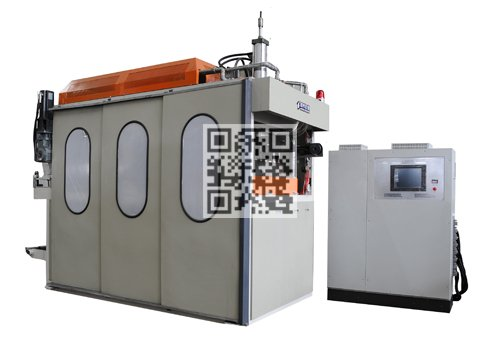 MX600T Disposable Plastic Cups Thermoforming Machine Servo Motor Feeding Sheet