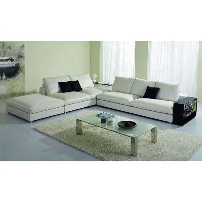6 Seats L Shaped Sofa Set
