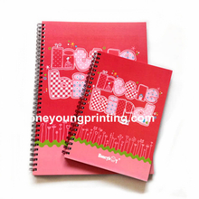 Lovely cover spiral notebook