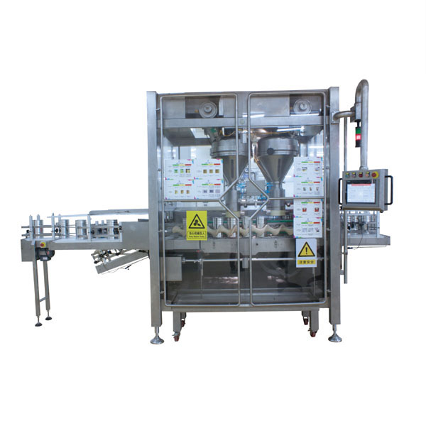jar tin can powder filling machine