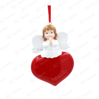 Angel Ornament Personalized Christmas Tree Ornament
