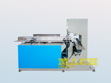 Automatic Toilet Tissue Paper Rolls Cutting Mcahine Band Saw