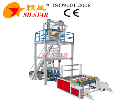 Auto Changer Roll ABA Double Screw Film Blowing Machine