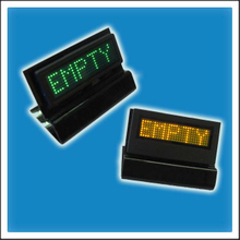 Programmable LED Name Tag Sign, Badge Board, Name Card Display