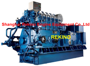 Weichai WHM200 500-1200KW 50HZ marine medium speed diesel generator set