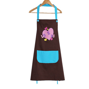 Kitchen Cotton Apron Chef Cooking Waiter Apron