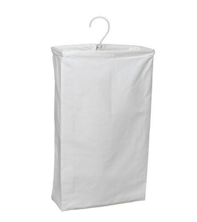 Household Essentials Hanging Cotton Canvas Laundry Hamper by Household Essential