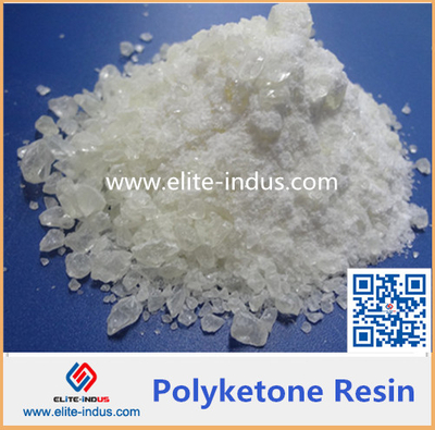 Polyketone resin for printing ink paint