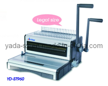 Comb + Wire (2 in 1) Binding Machine (YD-ST960) Legal size