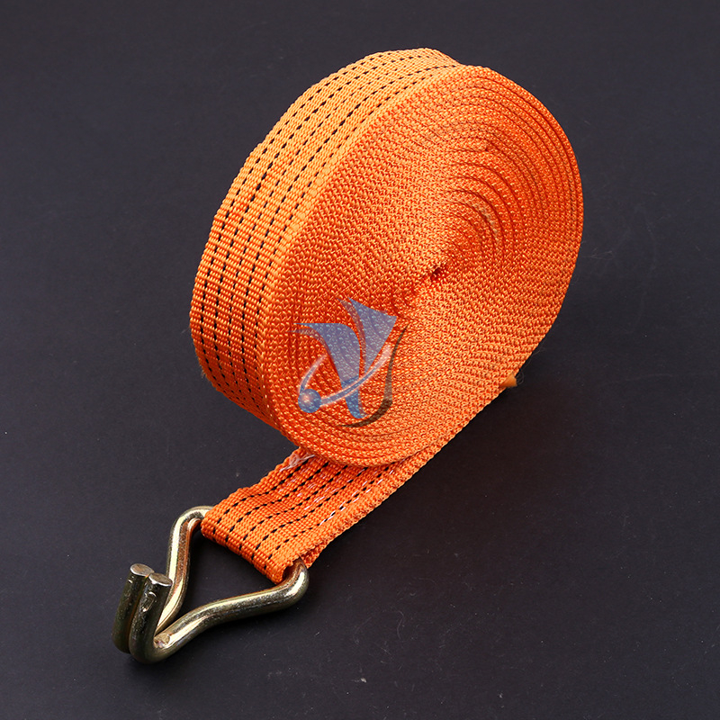 "2"" 5T ratchet tie down strap"