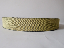 Aramid fiber fire retardant webbing for industry